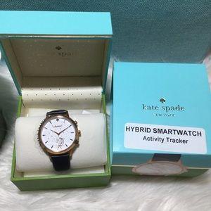 💎Kate spade hybrid smart watch navy band cheers